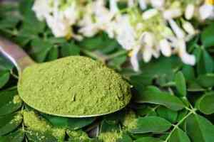 Moringa Oleifera Leaf Powder - Organic, Natural 100% Pure.