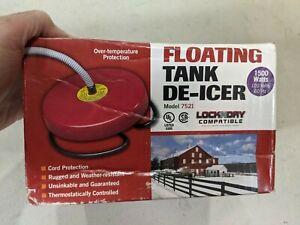 NEW FLOATING TANK DE-ICER 7521 1500-WATT HEATER