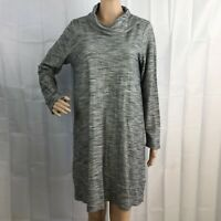 J. Jill Pure Jill Dress Size S Gray Long Sleeve