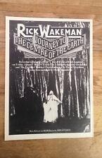 RICK WAKEMAN (YES) Journey..  1970s UK magazine ADVERT/Poster/clipping 11x8 inch