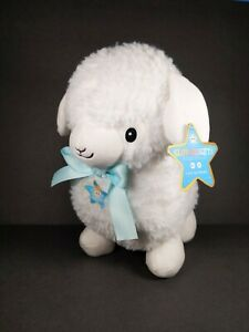 Fao Schwarz Glow Brights Sound & Light Lamb Sheep Stuffed Animal Plush Soft Toy
