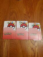 McDonalds 2021 Pokemon 25th Anniversary Pokemon Card Deck Box