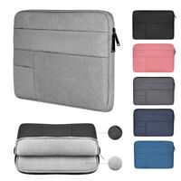 Bag Notebook Cover Pouch Sleeve Case For MacBook Air Pro Lenovo HP Dell Asus