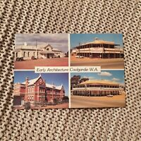 Early Architecture, Coolgardie, W.A. - Vintage Postcard