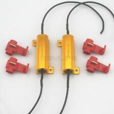 2x Car Load Resistor 50W 6-Ohm Fix LED Bulb Fast Flash Turn Signal Blink