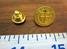 5 year Lapel Pin Button Badge Brass Embossed City of Oklahoma City Shield Emblem