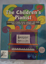 The Children's Pianist Music Library for MIDI System or PC Soundcard