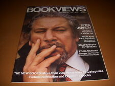 Bookviews Magazine, November, 1977, Peter Ustinov Cover, Ethel Merman!