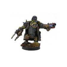 Ork War2 Orc Officer in Greatcoat Langem Mantel Kromlech