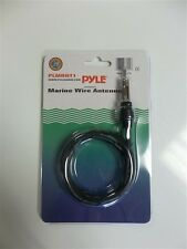 HIDDEN MOTORCYCLE AM/FM RADIO / STEREO ANTENNA-NO DRILLING/MOUNTING!-PLUG & PLAY
