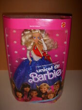 Vintage 1989 Mattel, Unicef Blonde Barbie Doll #1920, Mint Doll, NRFB!