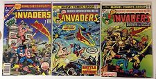 INVADERS #1 #2 1ST APPEARANCE BRAIN DRAIN & KINGE SIZE ANNUAL #1