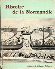 histoire de la Normandie par M.de Bouard coll. Univers de la France, 1970