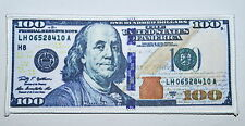 One hundred Dollars $100 Bills Cash Money Currency Applique Iron On Patch