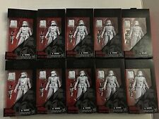 Lot 10 Star Wars Black Series First Order Snowtrooper New!