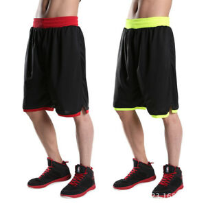 XL-7XL Men Fitness Short h4 Basketball Gym Running Sport Pants Compression Loose