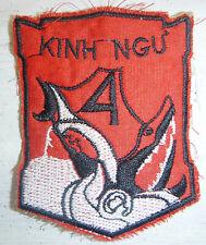 Patch - 4th MARINE BATTALION - Sharks of the Canals - VNMC - Vietnam War - 4852
