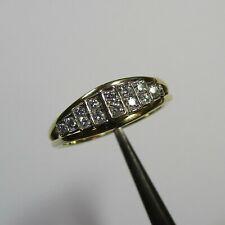Eleganter Ring aus Gelbgold Weißgold 585 mit 0,20 ct. Brillanten - 1144/G30