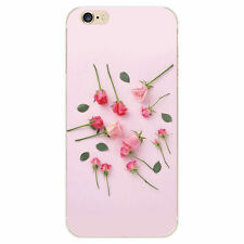 Iphone 6s plus pink rose silicone ❤️ casing housing lot of 2