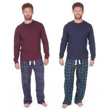 Cargo Bay Mens Long Sleeve Thermal Flannel Lounge Pyjama Set