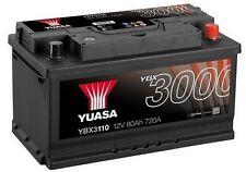 Ford Focus, Mondeo Mk3, Mk4, Transit, Vauxhall Vectra YUASA Car Battery YBX3110