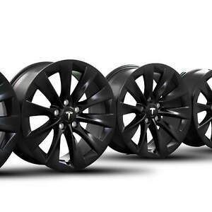 Tesla 19 Zoll Felgen Model S 8 x 19 ET40 Alufelgen 1059337-00-B NEU