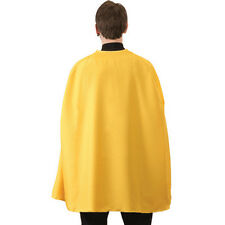 Morris Costumes Aa234 Yellow Superhero Cape Adult 36
