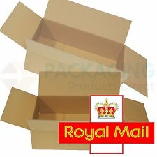 50 NEW DEEP Max Size Royal Mail Small Parcel Postal Boxes 350x250x160mm - 24HRS
