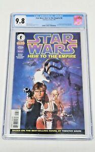 Star Wars: Heir to the Empire #6 Dark Horse Comics 4/96 CGC Graded 9.8 NM/MT