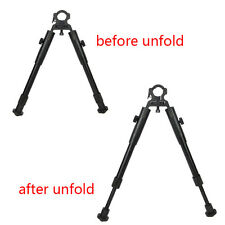 "8"" to 10"" Tactical Adjustable Barrel Mounted Clamp-On Hunting Rifle Bipod New"