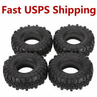 "4Pcs Ax-4020 1.9"" 110mm Tires Tyres for 1/10  D90 SCX10 CC01 RC Rock Crawler"