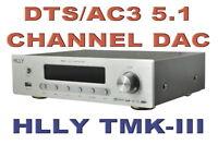HLLY TMK-3 DTS AC-3 Digital 5.1 Channel Audio Decoder DAC External Sound Card