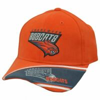 NBA OFFICIAL CHARLOTTE BOBCATS CAP HAT ORANGE ADJ NEW