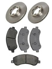 2X Brake Discs 300mm and Pads Set Front For Ford Transit 2.2 2.4 TDCi 2006-2014