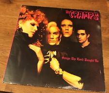 The Cramps - Songs The Lord Taught Us Original U.K. First Pressing 1980 ILP005