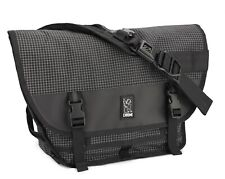Chrome Mini Metro Grid Commuter Cyclist Messenger Travelling Courier Bicycle Bag