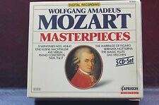 Superb Mozart Masterpieces with 5 Discs Complete Capriccio Germany DDD