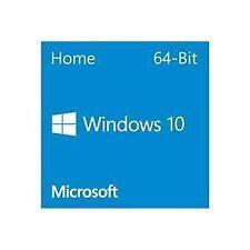 Microsoft Windows 10 Home 64Bit Eng Intl 1pk DSP OEI DVD