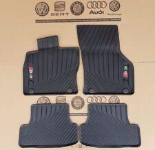 Audi A3 8V S3 original floor mats 4 pieces rubber mats front rear SET