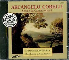 CORELLI  sonate da camera op. 4 - ENS. BAROQUE DE NICE , G. BEZZINA / ADDA