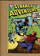Strange Adventures #197 - The Eggs Hatched Robots - 1967 (Grade 5.5) WH
