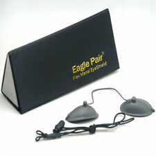 190nm-14000nm IPL Laser Photon Protection Eyepatch Stainless Steel Goggles OD7+