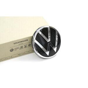 Original VW Emblem hinten Heckklappe Zeichen New Volkswagen Logo chrom OEM