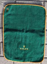 ROLEX panno salvietta kit golf originale NUOVO di alta manifattura 100% cotone