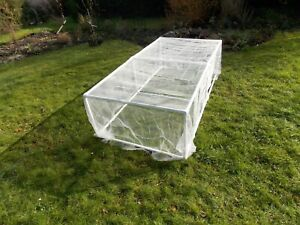 strawberry/Vegetable cage 2 m long by 1 M wide by 1/2 H insect mesh cover