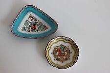 Jolies petites coupelles émaillées Made In Austria Enamel Décor Cheval Enfant