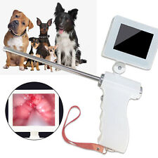 stainless steel Visual Dog Artificial Insemination Gun Kit 3.5in 5Mp Camera 304
