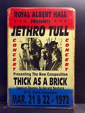 JETHRO TULL Thick As A Brick Poster-Vintage&Retro Style LARGE Metal Sign 30X40cm