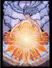Radiant Sacred Feminine Spiritual Wall Hanging Tapestry Artist Francene Hart #ER