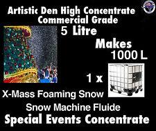 Christmas Snow Machine Fluid 5kg makes 1000 Litres Foam Machine Fluid